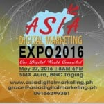 ASIA DIGITAL MARKETING EXPO 2016 : ONE DIGITAL WORLD CONNECTED