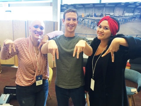 Meeting Mark Zuckerberg and My Facebook Friends Day Experience
