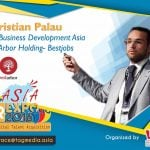 Christian Palau of Bestjobs, Computrabajo, Seedjobs, Amaling at Asia HR Expo 2016
