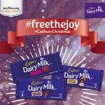 #FreeTheJoy with Limited Edition Cadbury Dairy Milk Christmas Flavors