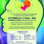 Be part of the first Health and Wellness Fair this October!