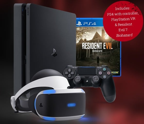 Win Playstation 4 Slim with VR and Game Bundle - #Giveaway