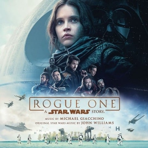 Win Rogue One Starwars Soundtrack CD - #Giveaway