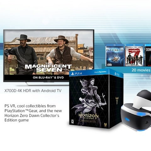 Win 4K Android TV and Playstation VR Bundle (US) - #Giveaway