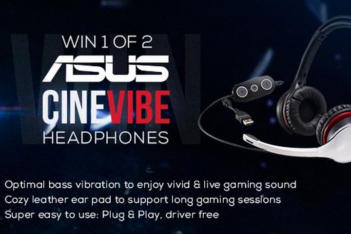Win ASUS CineVibe Headsets - #Giveaway