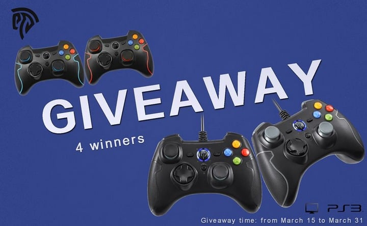Win EasySMX ESM-9100 Wired Game Controller - #Giveaway