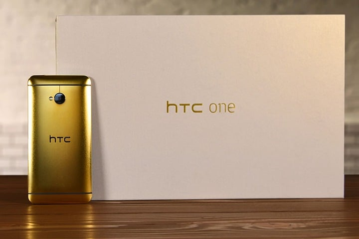 Win 24K Gold HTC One M7 Smartphone - #Giveaway