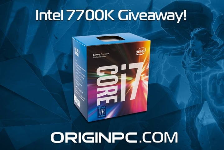 Win Intel 7700k Gaming PC - #Giveaway