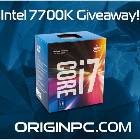 PC GAMER INTEL GIVEAWAY