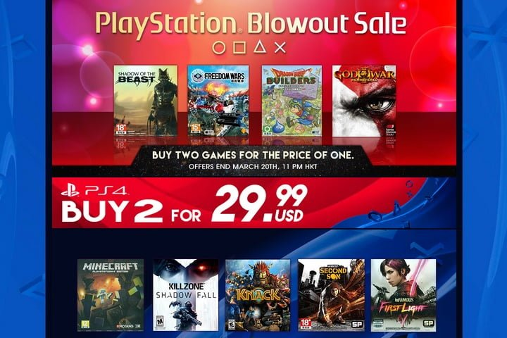 Playstation Blowout Sales & Discount?