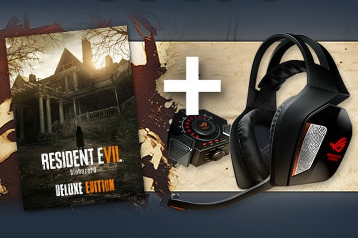 Win ROG Centurion Headset and Resident Evil VII Game on GamesPlanet - #Giveaway