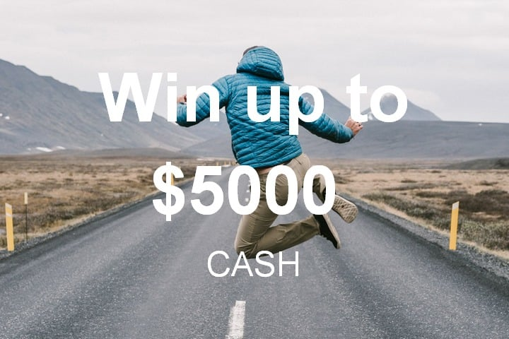 Win $5000 USD Cash - #Giveaway