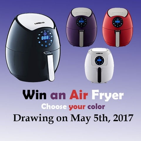 Win Air Fryer - #Giveaway