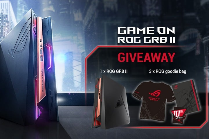Win ASUS ROG GR8 II Mini Gaming PC - #Giveaway
