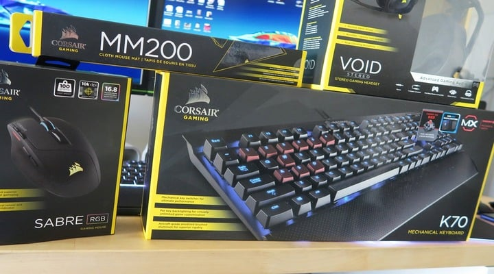 Win Corsair Gamer Peripherals - #Giveaways