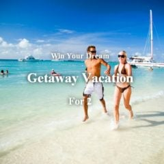 Win Your Dream Getaway Vacation for 2 - #Giveaway