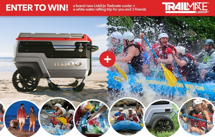 Win LiddUp Coolers and Outdoor Adventure for 4 - #Giveaway