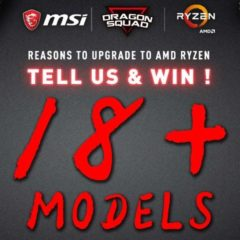 Win 1 of 18 MSI Dragon Motherboards - #Giveaways (WW)