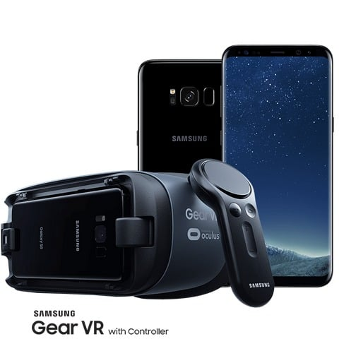 Win Samsung Galaxy S8 and Samsung Gear VR - #Giveaway
