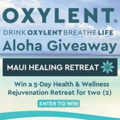 Win 5-Day Health & Wellness Rejuvenation Retreat in Hawaii for 2 - #Giveaway (US)