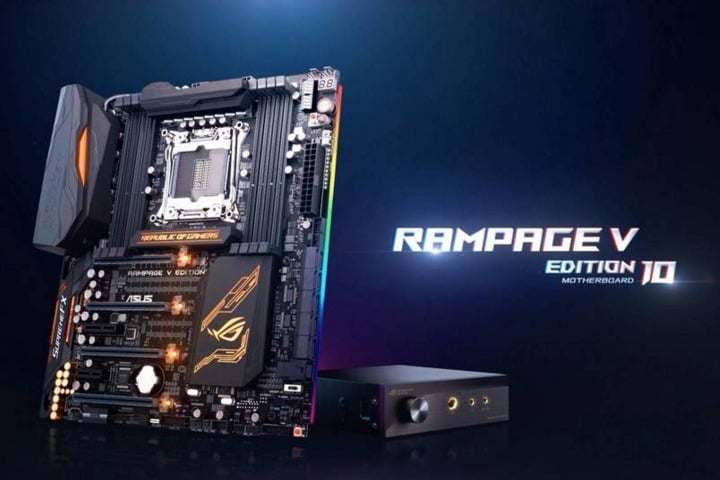 Win ASUS Rampage V Edition 10 Gaming Motherboard - #Giveaway (UK)