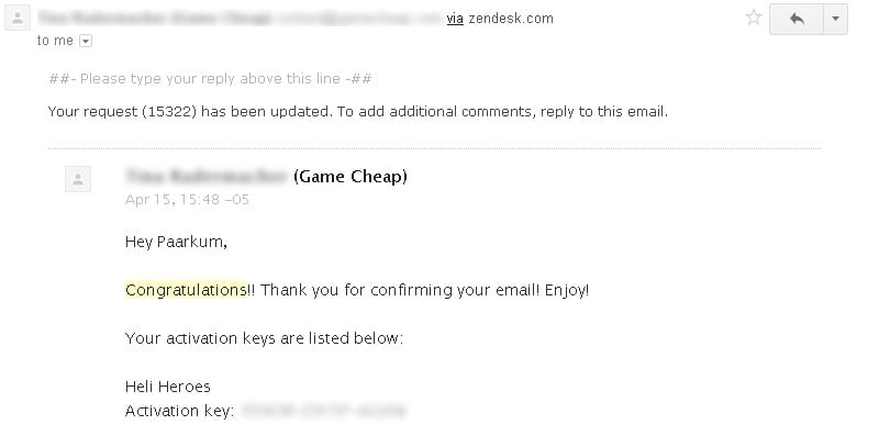 Does GameCheap really gives prizes from their giveaways? - Email Part 2