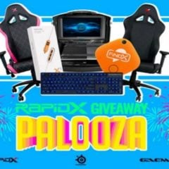 Win Palooza Gaming Chair and Peripherals - #Giveaway (WW)