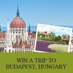 Win Trip to Budapest, Hungary for 2 with $500 USD Cash - #Giveaway (US)