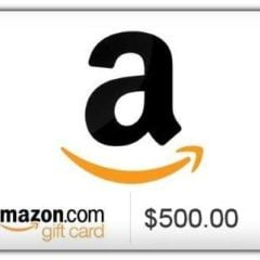 Win $500 Amazon Gift Card - #Giveaway (US)