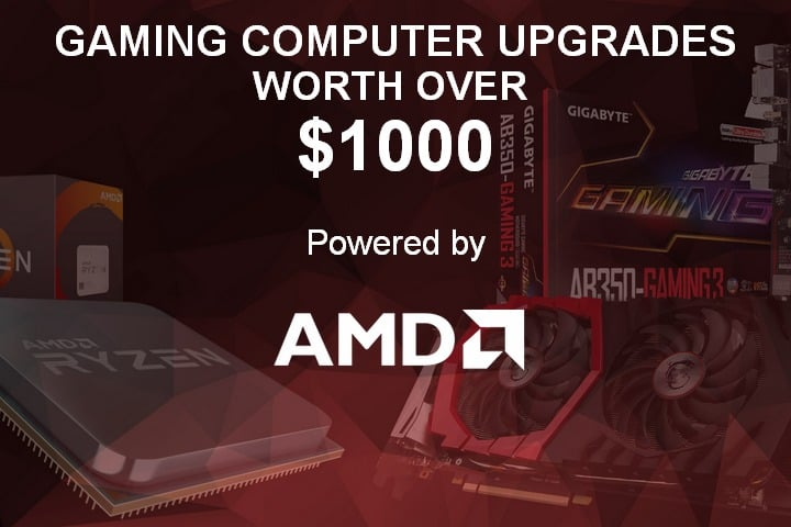 Win Gaming Computer Upgrade worth over $1000 - #Giveaway (CA/US)