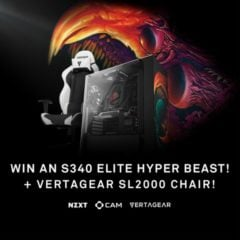 Win NZXT S340 Elite Hyper Beast and Vertagear SL2000 Gaming Chair - #Giveaway (CA/US)