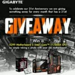 Win Gigabyte AORUS X299 Gaming MoBo and Intel Core i7-7800X (FB)  –  #Giveaways (WW)