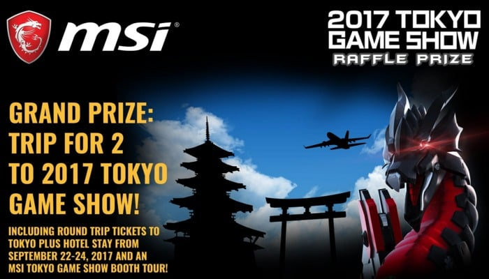 Win Trip to Tokyo Game Show for 2, MSI Gaming Laptop, and other more prizes - #Giveaways (PH)