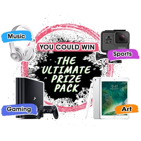 Win Sony PS4 Pro, GoPro Hero 5, iPad Pro, Beats Solo3, Apple Pencil, and 1yr Spotify (IG) - #Giveaways (US)