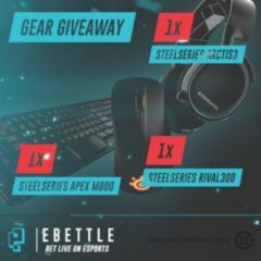 Win Steelseries Gaming Peripherals - #Giveaways (WW)