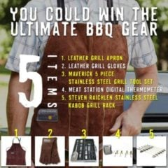 Win Ultimate BBQ Gear - #Giveaway (US)