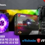 Win MSI X370 Gaming Pro Carbon MoBo, CM MasterFan Pro 120 and 140  –  #Giveaways (WW)