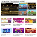 Play Bingo with £15 Free No Deposit