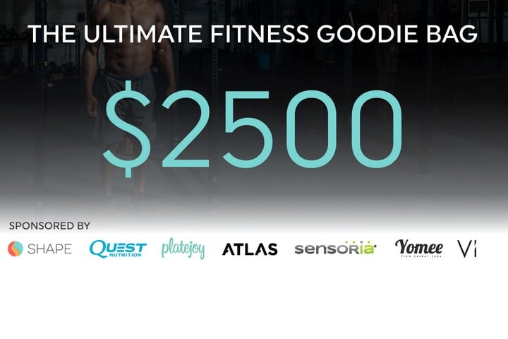 Win $2500 Ultimate Fitness Goodie Bag - #Giveaway (US)