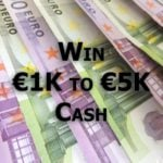 Win €1000 to €5000 Cash  –  #Competition (EU)
