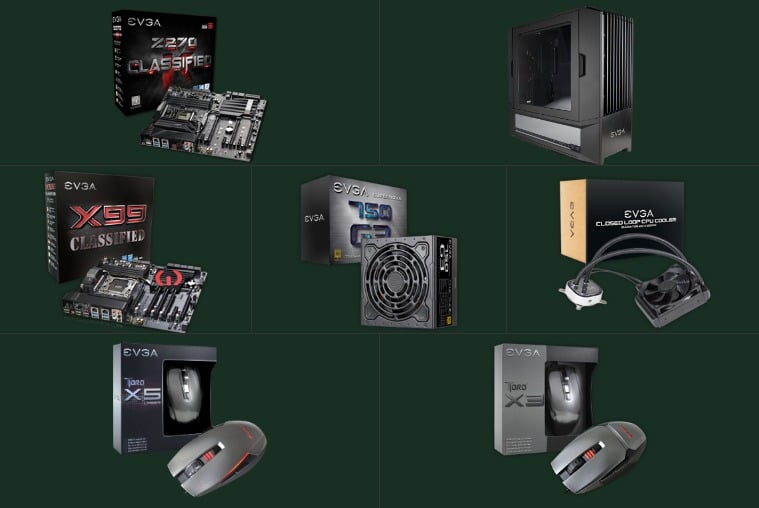 Win EVGA King of Jungle Computer Components or Peripherals - #Giveaways (WW)