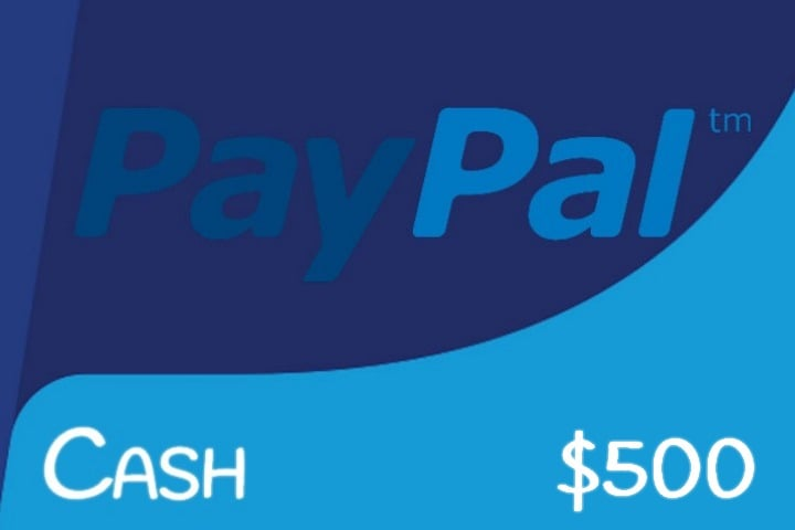 Win $500 Paypal Cash - #Giveaway (WW)
