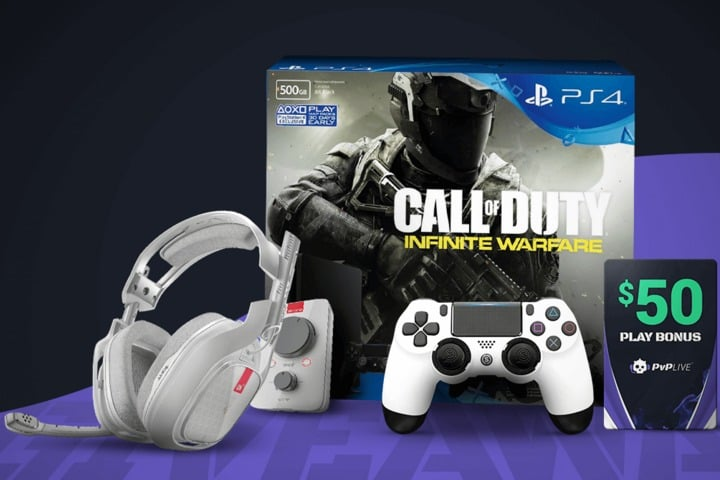 win ps4 pro infinite warfare bundle and gaming peripherals. Black Bedroom Furniture Sets. Home Design Ideas
