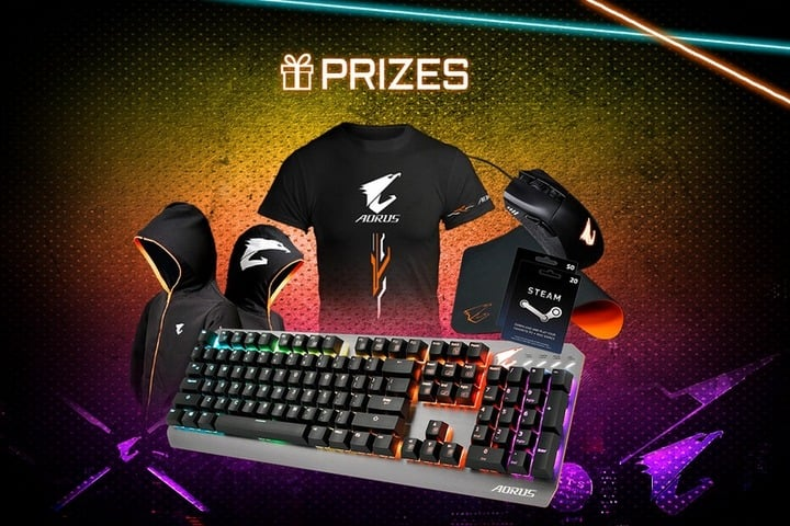 Win AORUS Merchandise - #Giveaways (WW)