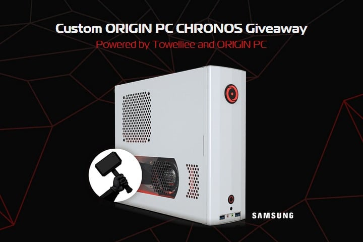 Win ORIGIN PC CHRONOS Gaming PC - #Giveaway (WW)