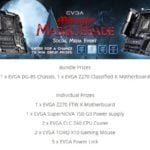 Win EVGA Midnight Masquerade Gaming  –  #Giveaways (WW)