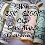 Win $5000 to $100,000 Cash  –  #Competition (WW)