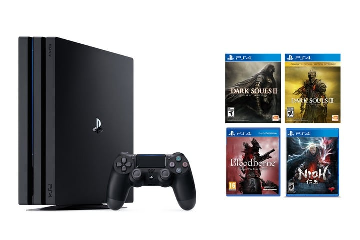 win playstation 4 pro with ps4 game bundles giveaways ww. Black Bedroom Furniture Sets. Home Design Ideas