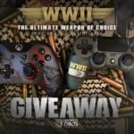 Win WWII Custom XBOX One or PS4 Controller  –  #Giveaway (WW)