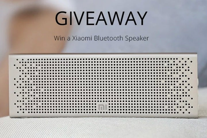 Win Xiaomi Mi Bluetooth Speaker - #Giveaway (WW)